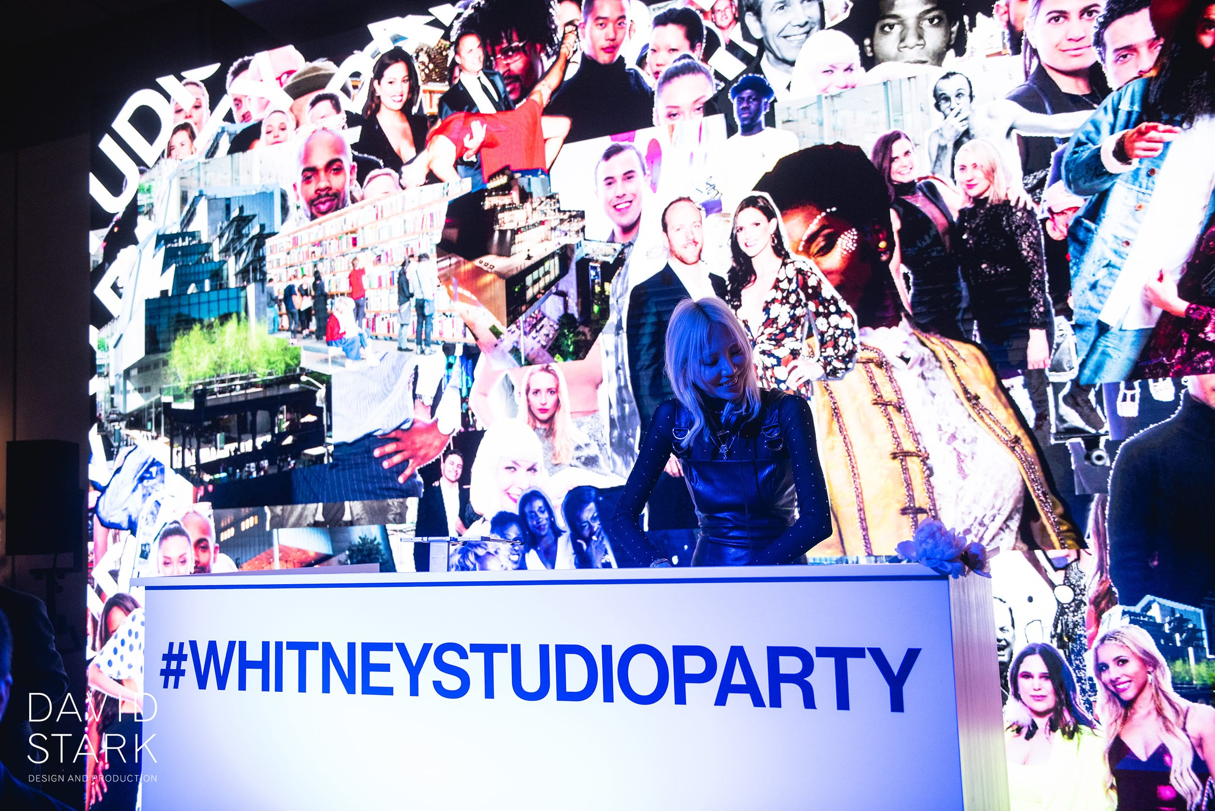 the whitney gala and studio party